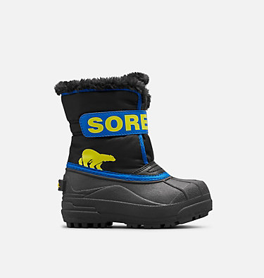 Kids' Snow Commander™ Boot CHILDRENS SNOW COMMANDER™ | 591 | 10, Black, Super Blue, front
