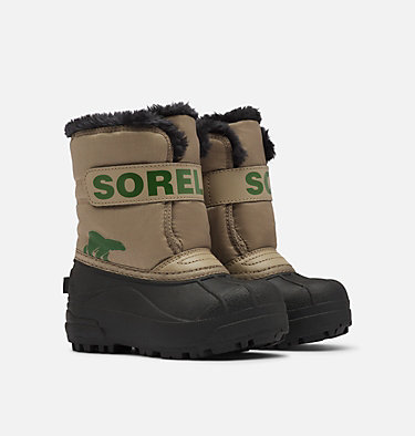 Childrens Snow Commander™ Boot CHILDRENS SNOW COMMANDER™ | 591 | 10, Khaki II, 3/4 front