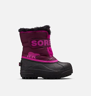Childrens Snow Commander™ Boot CHILDRENS SNOW COMMANDER™ | 591 | 10, Purple Dahlia, Groovy Pink, front
