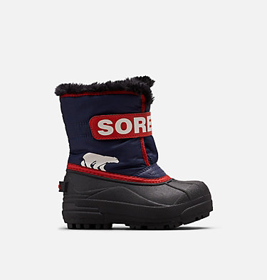 Kids' Snow Commander™ Boot CHILDRENS SNOW COMMANDER™ | 591 | 10, Nocturnal, Sail Red, front