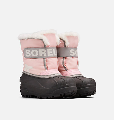 Kids' Snow Commander™ Boot CHILDRENS SNOW COMMANDER™ | 591 | 10, Cupid, 3/4 front