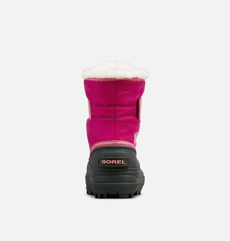 CHILDRENS SNOW COMMANDER™   652   12.5 Kids' Snow Commander™ Snow Boot, Tropic Pink, Deep Blush, back