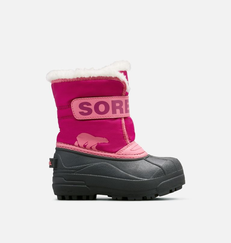 CHILDRENS SNOW COMMANDER™ | 652 | 12 Childrens Snow Commander™ Boot, Tropic Pink, Deep Blush, front