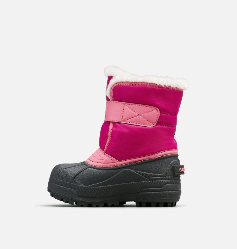 CHILDRENS SNOW COMMANDER™   652   12.5 Kids' Snow Commander™ Snow Boot, Tropic Pink, Deep Blush, medial