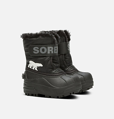 Bota Snow Commander™ para niños TODDLER SNOW COMMANDER™ | 010 | 4, Black, Charcoal, 3/4 front