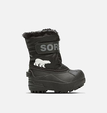 Toddlers' Snow Commander™ Boot TODDLER SNOW COMMANDER™ | 010 | 4, Black, Charcoal, front