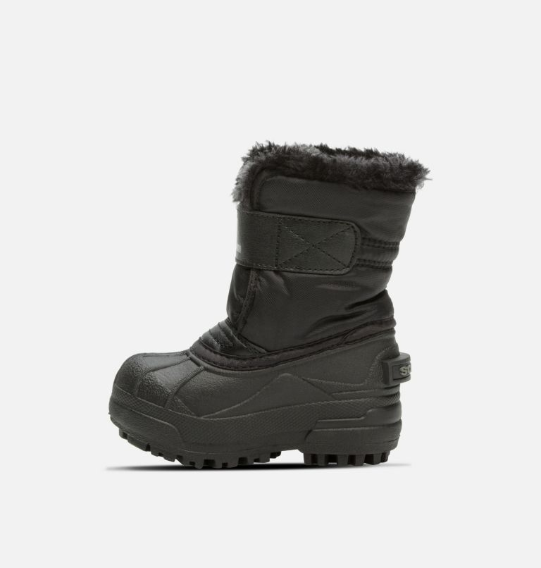 TODDLER SNOW COMMANDER™ | 010 | 5 Toddlers' Snow Commander™ Boot, Black, Charcoal, medial