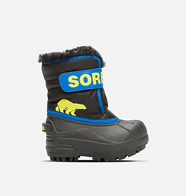 Bota Snow Commander™ para niños TODDLER SNOW COMMANDER™ | 010 | 4, Black, Super Blue, front