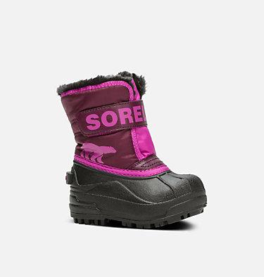 Botte Snow Commander™ pour les tout-petits TODDLER SNOW COMMANDER™ | 591 | 4, Purple Dahlia, Groovy Pink, 3/4 front