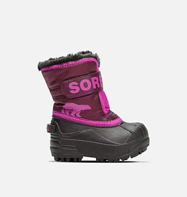 Toddler Snow Commander™ Boot TODDLER SNOW COMMANDER™ | 591 | 4, Purple Dahlia, Groovy Pink, front