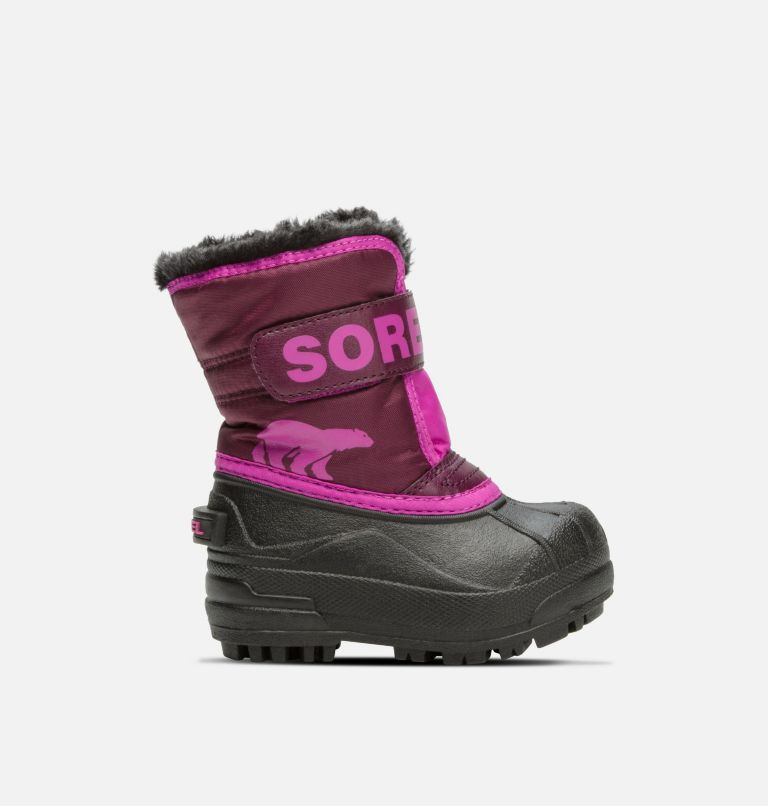 TODDLER SNOW COMMANDER™ | 562 | 7 Toddler Snow Commander™ Boot, Purple Dahlia, Groovy Pink, front