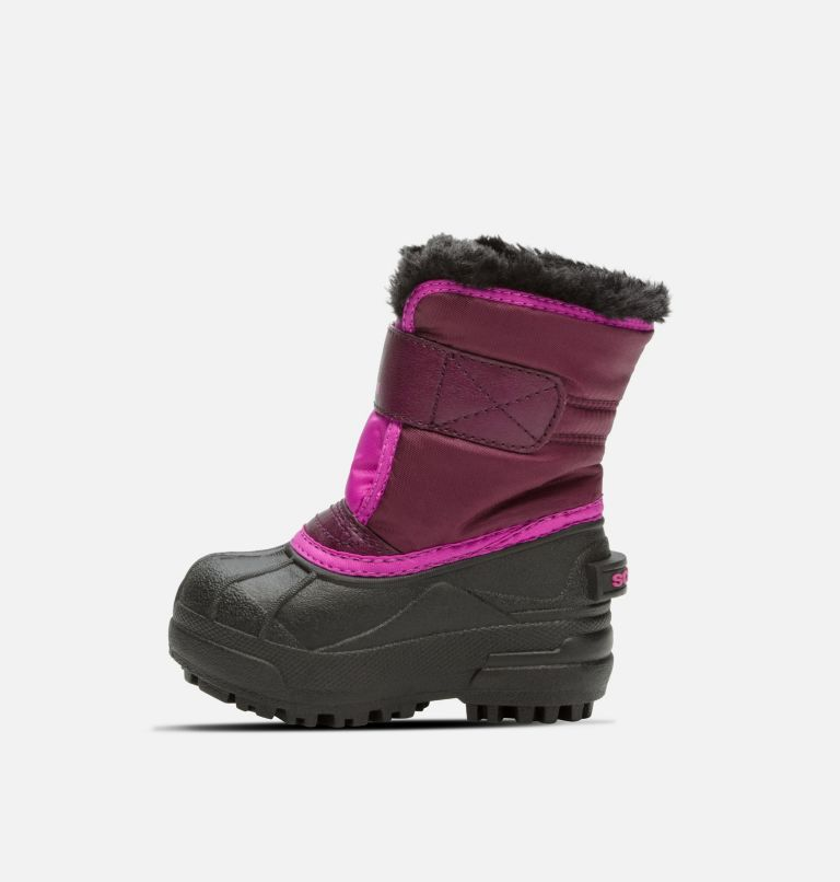 TODDLER SNOW COMMANDER™ | 562 | 7 Toddler Snow Commander™ Boot, Purple Dahlia, Groovy Pink, medial