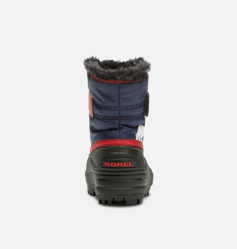 TODDLER SNOW COMMANDER™ | 591 | 6 Bota Snow Commander™ para niños, Nocturnal, Sail Red, back