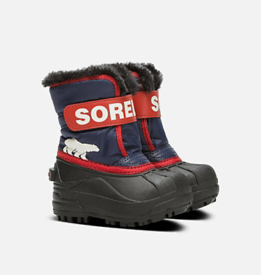 Toddlers' Snow Commander™ Boot TODDLER SNOW COMMANDER™ | 010 | 4, Nocturnal, Sail Red, 3/4 front