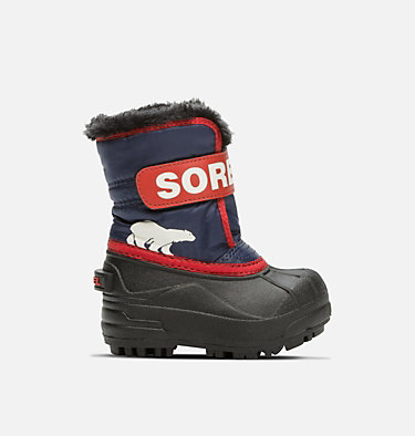 Toddler Snow Commander™ Boot TODDLER SNOW COMMANDER™ | 591 | 4, Nocturnal, Sail Red, front