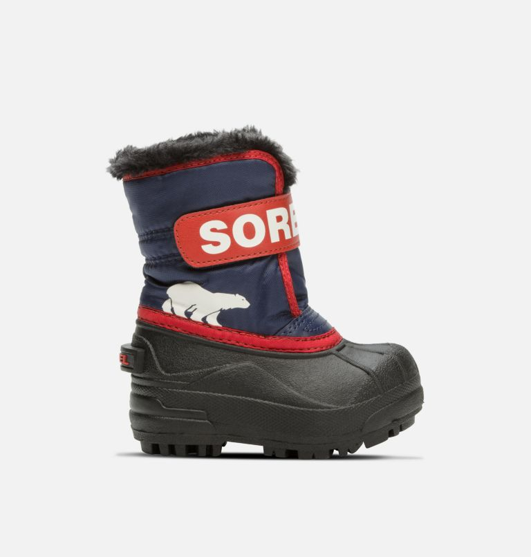 TODDLER SNOW COMMANDER™ | 591 | 7 Toddlers' Snow Commander™ Boot, Nocturnal, Sail Red, front