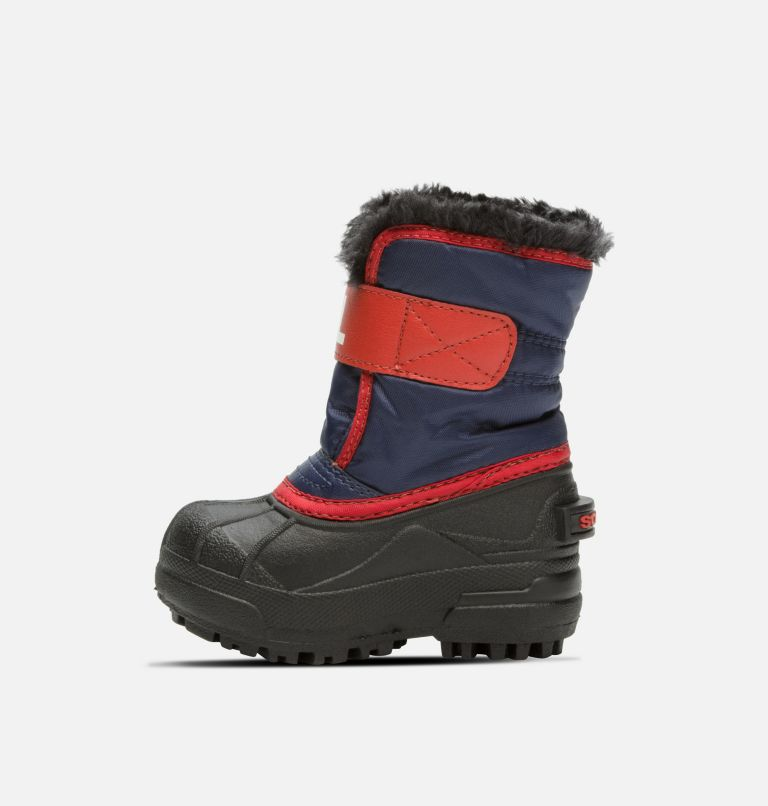 TODDLER SNOW COMMANDER™ | 591 | 7 Toddlers' Snow Commander™ Boot, Nocturnal, Sail Red, medial