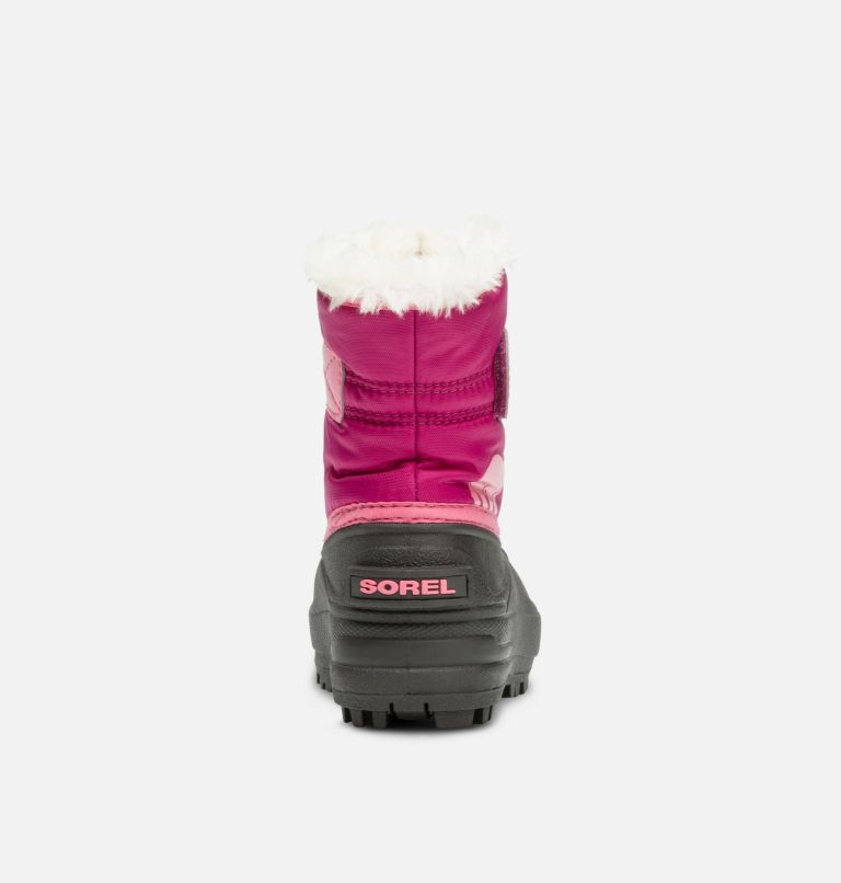 TODDLER SNOW COMMANDER™ | 652 | 6 Toddlers' Snow Commander™ Boot, Tropic Pink, Deep Blush, back