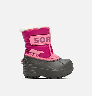 Botte Snow Commander™ jeune enfant TODDLER SNOW COMMANDER™ | 591 | 4, Tropic Pink, Deep Blush, front