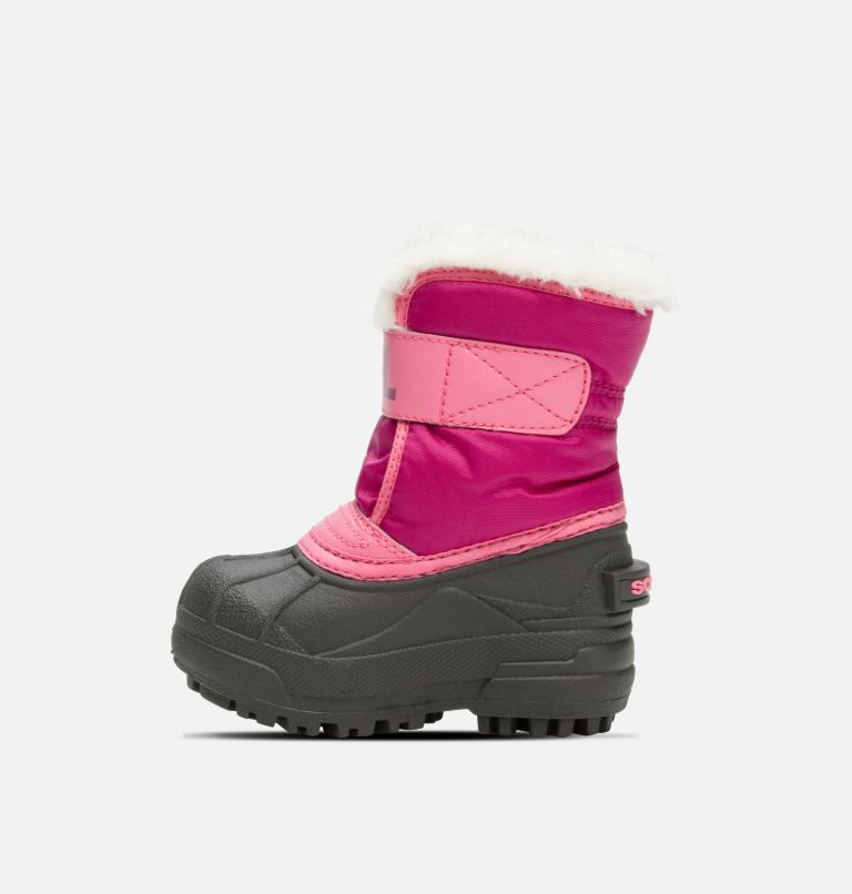 TODDLER SNOW COMMANDER™ | 652 | 6 Toddlers' Snow Commander™ Boot, Tropic Pink, Deep Blush, medial