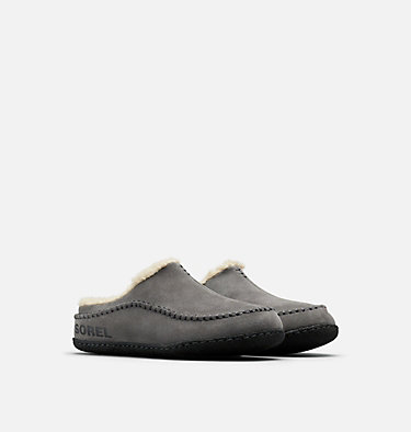 Men's Falcon Ridge™ II Slipper FALCON RIDGE™ II | 224 | 10, Quarry, Black, 3/4 front