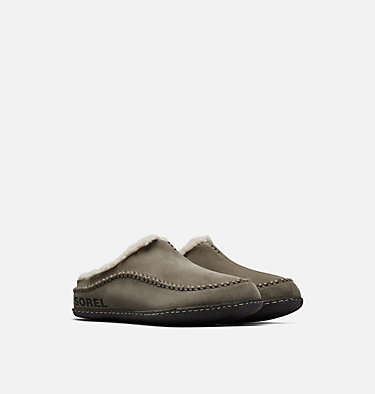 Men's Falcon Ridge™ II Slipper FALCON RIDGE™ II | 224 | 10, Sage, Black, 3/4 front