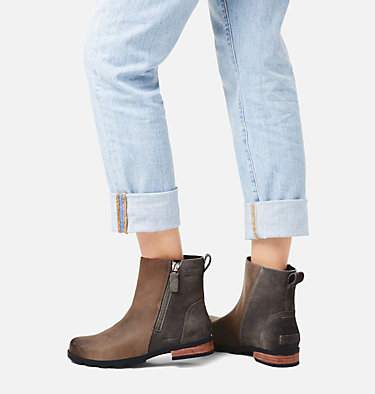Women's Emelie™ Zip Bootie EMELIE™ ZIP BOOTIE | 052 | 10, Quarry, video