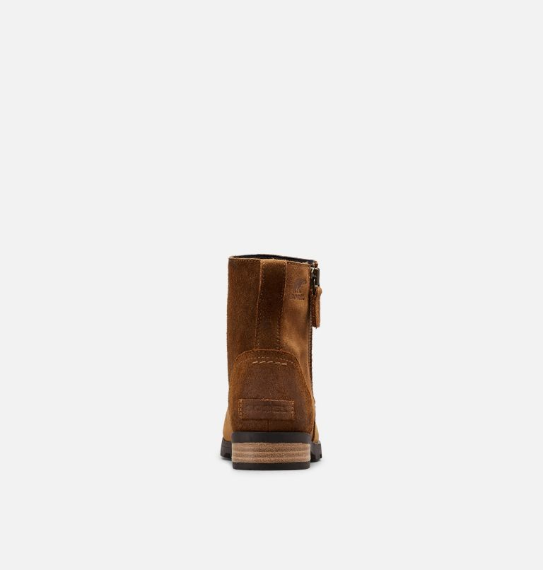 EMELIE™ ZIP BOOTIE | 224 | 7 Women's Emelie™ Zip Bootie, Camel Brown, back