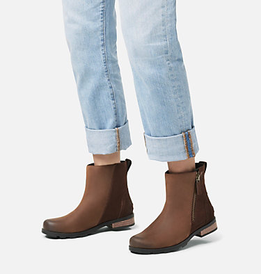 Women's Emelie™ Zip Bootie EMELIE™ ZIP BOOTIE | 052 | 10, Tobacco, video