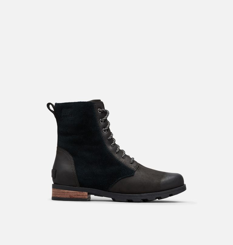 EMELIE™ SHORT LACE | 010 | 6 Women's Emelie™ Short Lace Boot, Black, front