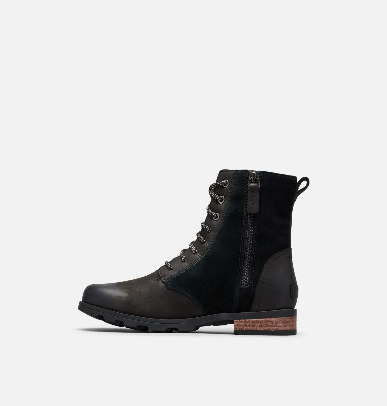 EMELIE™ SHORT LACE | 010 | 6.5 Women's Emelie™ Short Lace Boot, Black, medial