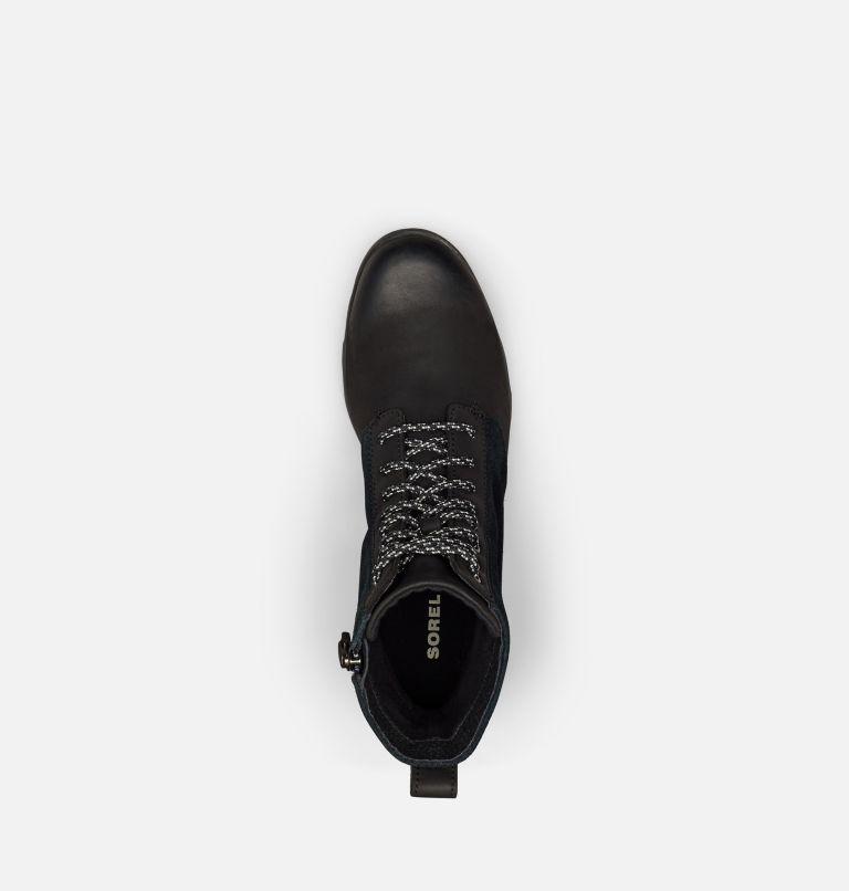 EMELIE™ SHORT LACE | 010 | 6 Women's Emelie™ Short Lace Boot, Black, top