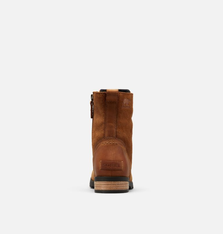 EMELIE™ SHORT LACE | 224 | 9.5 Botte à lacets hauteur-cheville Emelie™ pour femme, Camel Brown, back