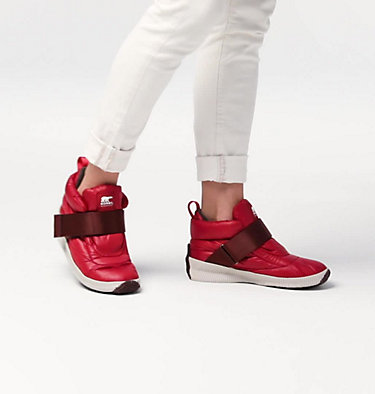 Women's  Out N About™ Puffy Strap OUT N ABOUT™ PUFFY | 010 | 10, Red Dahlia, video