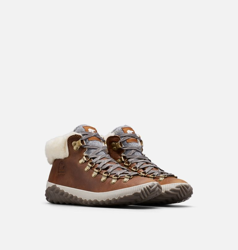 OUT N ABOUT™ PLUS CONQUEST | 286 | 5.5 Women's Out N About™ Plus Conquest Boot, Elk, 3/4 front