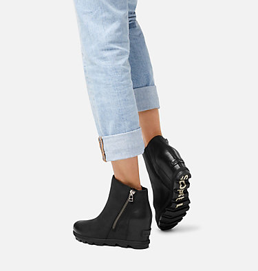 Bottillon à fermeture à glissière Joan of Arctic™ Wedge II pour femme JOAN OF ARCTIC™ WEDGE II ZIP | 052 | 10, Black, video