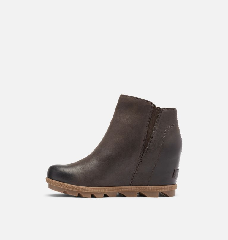 JOAN OF ARCTIC™ WEDGE II ZIP | 205 | 6 Women's Joan of Arctic™ Wedge II Zip Bootie, Blackened Brown, medial