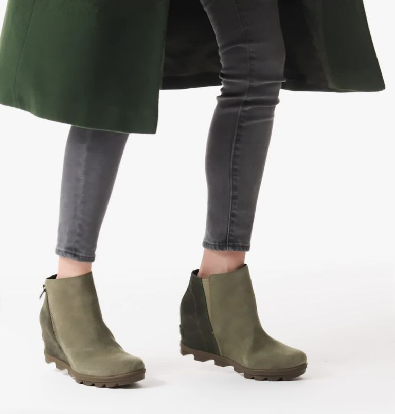 JOAN OF ARCTIC™ WEDGE II ZIP | 365 | 10.5 Women's Joan of Arctic™ Wedge II Zip Bootie, Sage, video