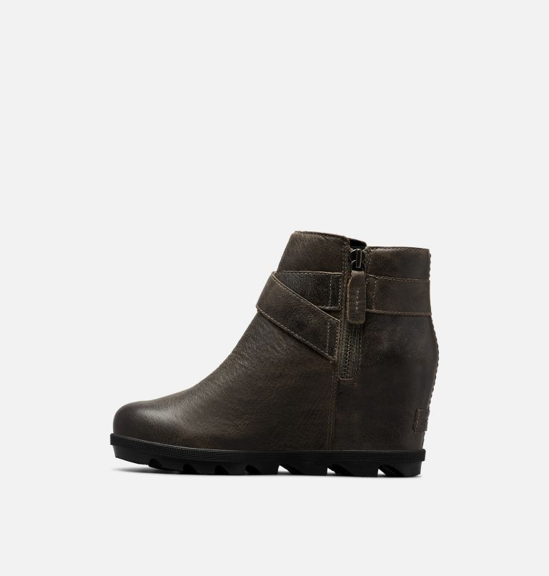 JOAN OF ARCTIC™ WEDGE II BUCKLE | 052 | 12 Women's Joan Of Arctic™ Wedge II Buckle Bootie, Quarry, medial