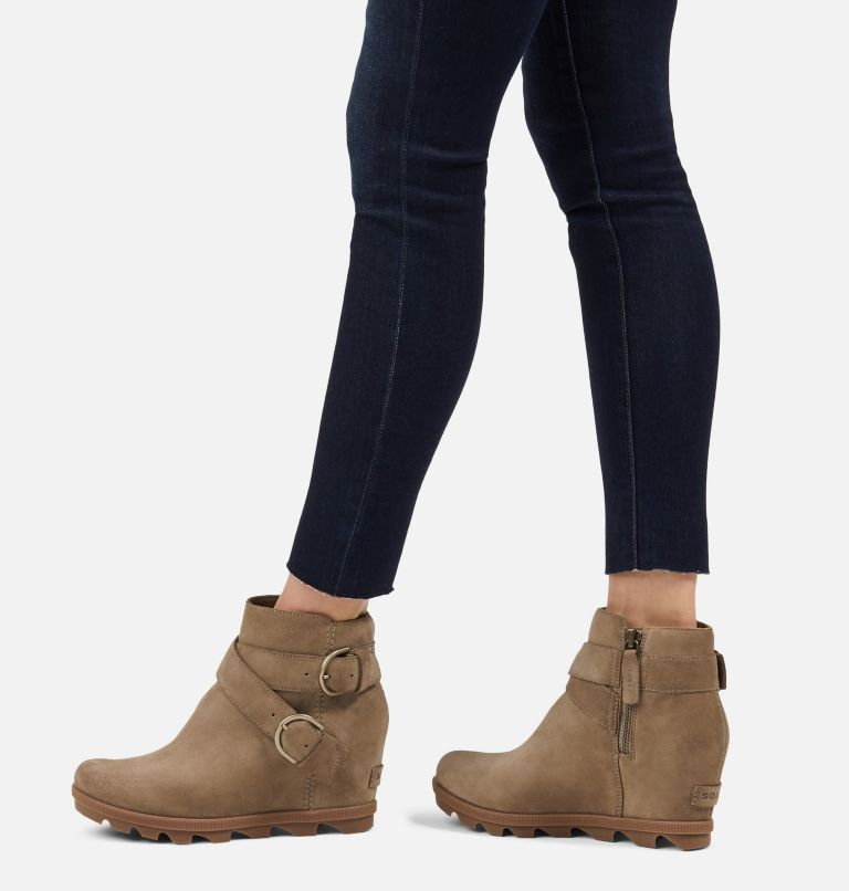 JOAN OF ARCTIC™ WEDGE II BUCKLE | 297 | 8 Women's Joan Of Arctic™ Wedge II Buckle Bootie, Khaki II, a9