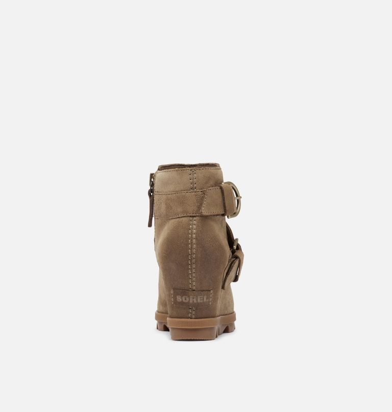 JOAN OF ARCTIC™ WEDGE II BUCKLE | 297 | 6 Women's Joan Of Arctic™ Wedge II Buckle Bootie, Khaki II, back