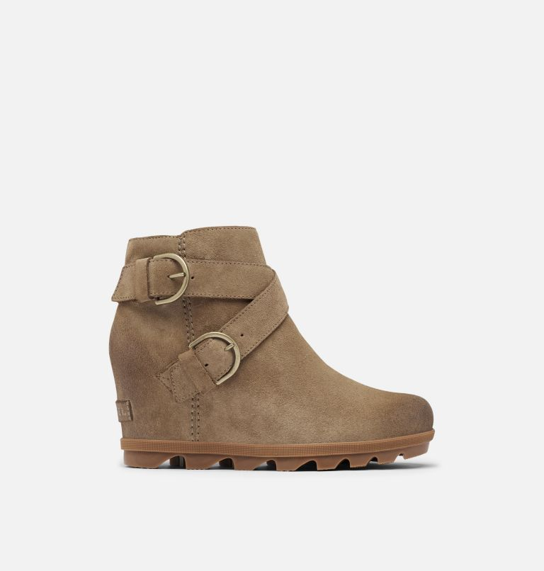 JOAN OF ARCTIC™ WEDGE II BUCKLE | 297 | 8 Women's Joan Of Arctic™ Wedge II Buckle Bootie, Khaki II, front