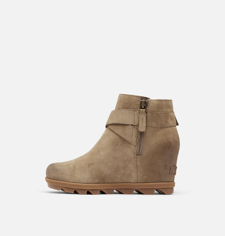 JOAN OF ARCTIC™ WEDGE II BUCKLE | 297 | 8 Women's Joan Of Arctic™ Wedge II Buckle Bootie, Khaki II, medial