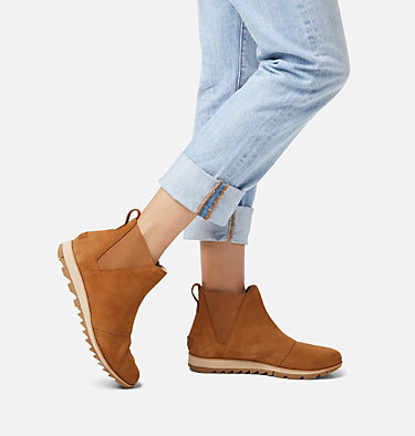 Women's Harlow™ Chelsea Bootie HARLOW™ CHELSEA | 224 | 6.5, Camel Brown, video