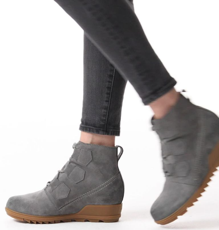 EVIE™ LACE | 052 | 5.5 Women's Evie™ Lace Bootie, Quarry, video