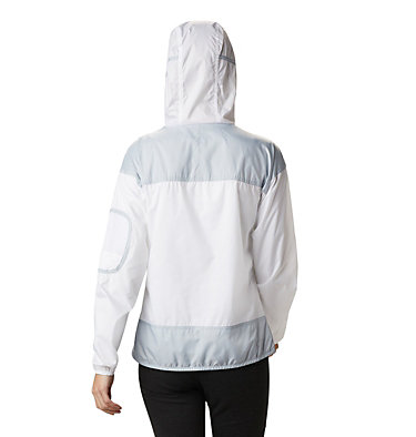 Women's Challenger™ Windbreaker Challenger™ Windbreaker | 010 | XL, White, Cirrus Grey, back