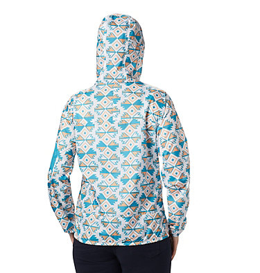 Women's Challenger™ Windbreaker Challenger™ Windbreaker | 010 | XL, White SW Blocks Print, back