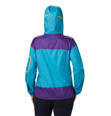 Women's Challenger™ Windbreaker Challenger™ Windbreaker | 010 | XL, Clear Water, Vivid Purple, back