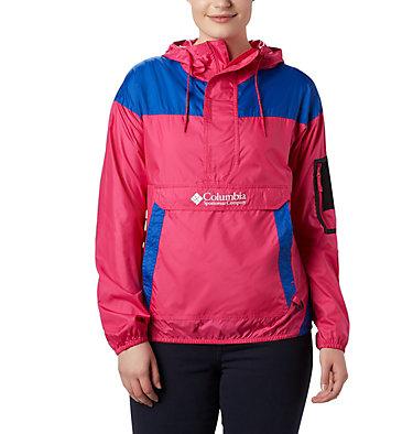 Women's Challenger™ Windbreaker Challenger™ Windbreaker | 870 | XS, Cactus Pink, Azul, front