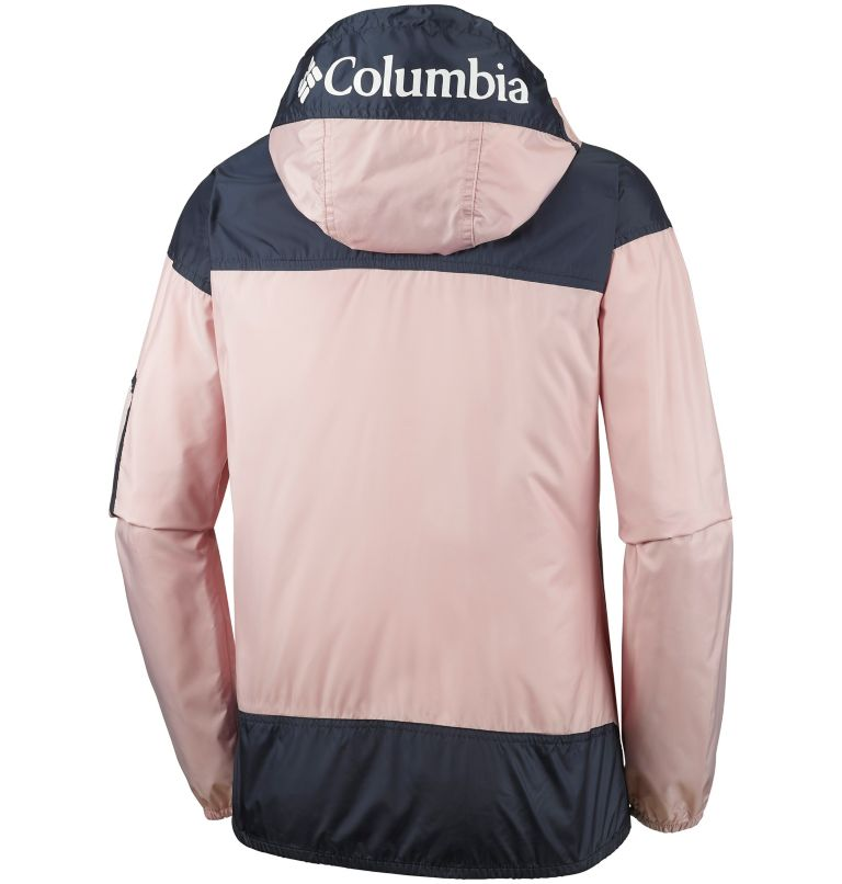 Challenger™ Windbreaker | 618 | L Giacca a vento Challenger™ da donna, Mineral Pink, Nocturnal, back